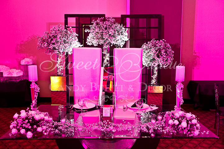 candy buffet y decoración boda ichell y hugo | sweet juliette