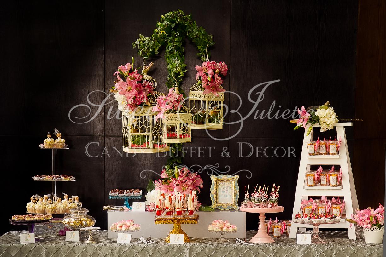 Candy buffet despedida soltera iliana sweet juliette for Decoracion casa despedida soltera